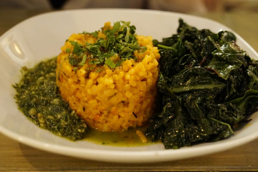 Carrot Risotto | Vegetarian Restaurants near me in New York City