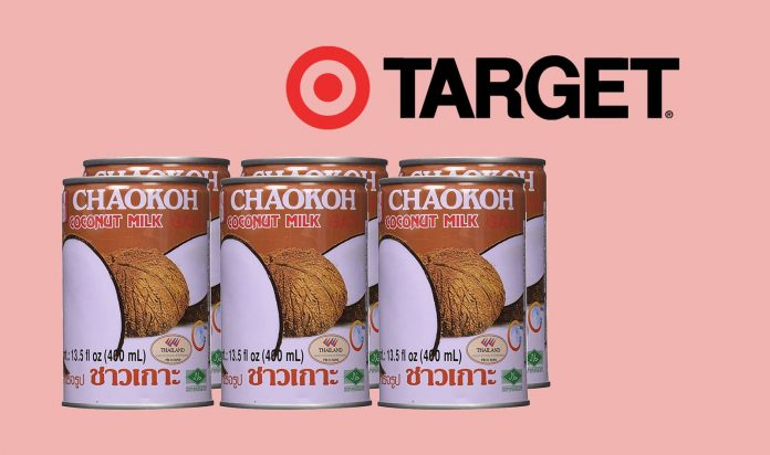 Target Drops Coconut Milk Brand
