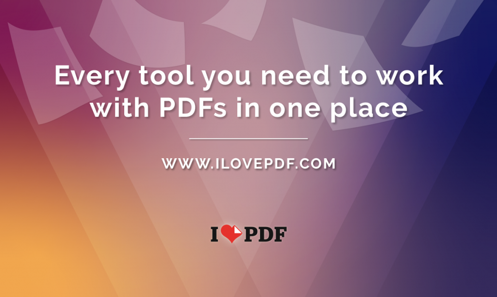 how ilovepdf work?
