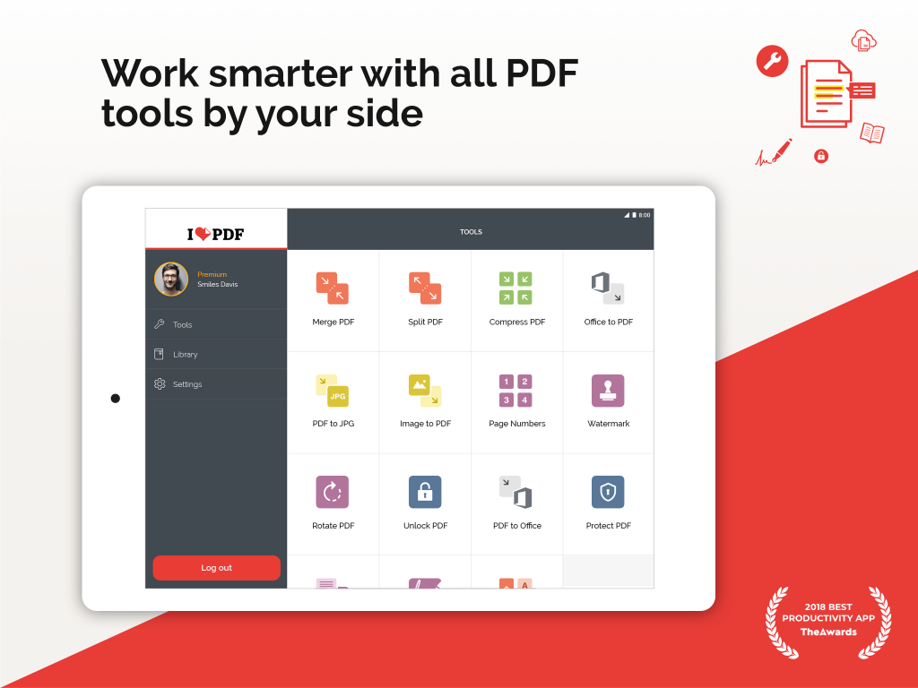 Work Smarter with ilovepdf